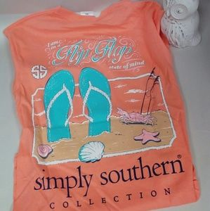 Simply southern flip flop tshirt